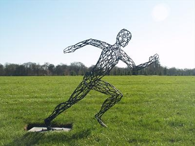Sprint (First of Three figures)