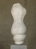 Evolving Form by LUCY UNWIN, Sculpture, Carrara Marbl