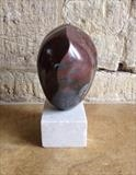 Heart Shell by LUCY UNWIN, Sculpture, French Marble