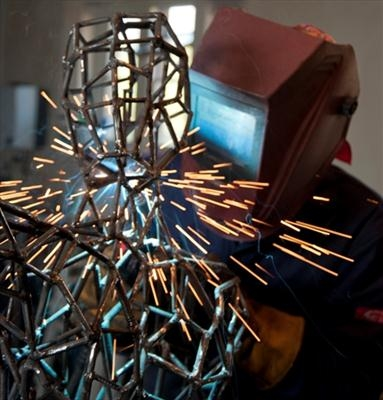 At Work - Welding by LUCY UNWIN, Photography
